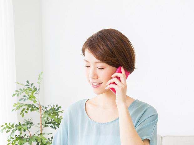 在宅訓練時は朝と夕方の一日最低2回、職員からの電話連絡で体調確認